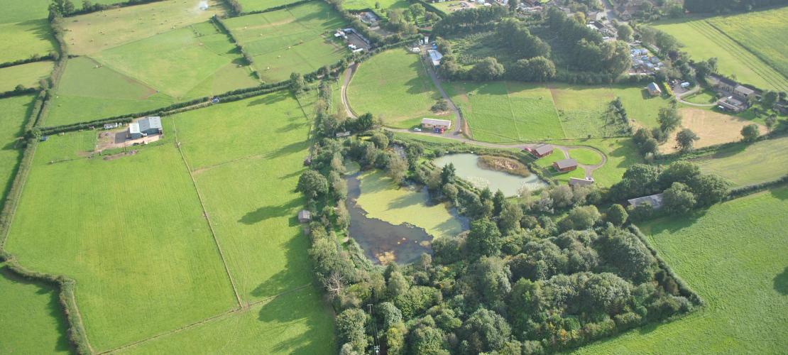 Aerial View of WaterMedows