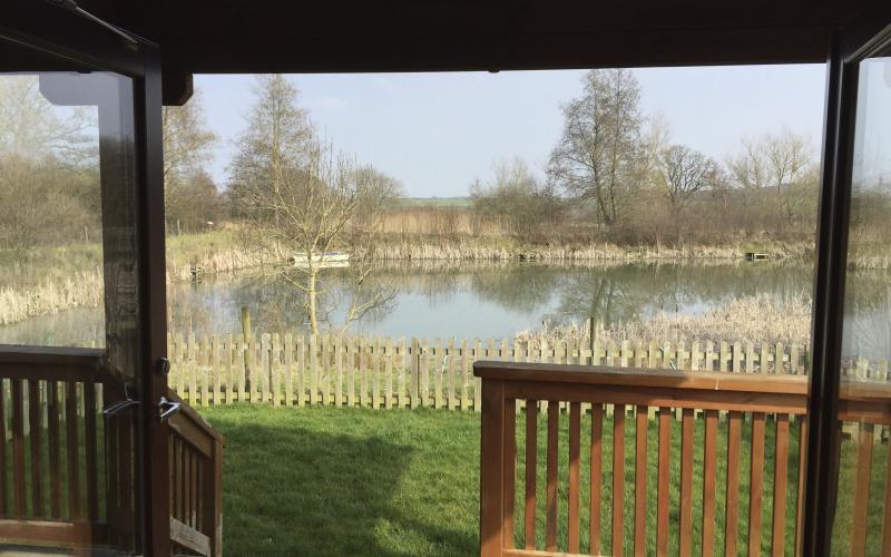 The Morning Lake View