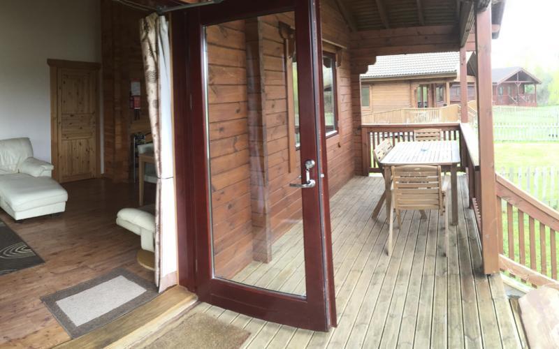 Kingfisher Lodge - Balcony