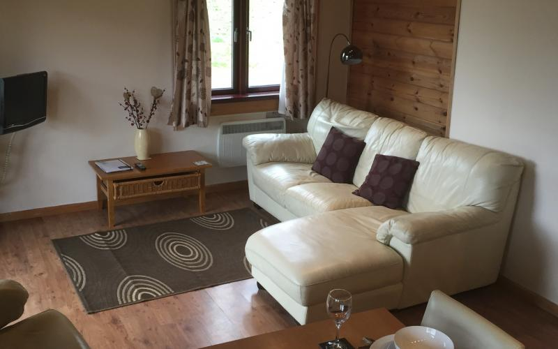 Kingfisher Lodge - Living Room