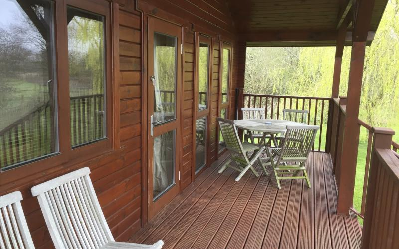 The Willow Lodge - Balcony