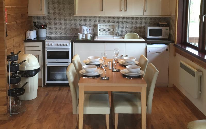 Kingfisher Lodge - Kitchen