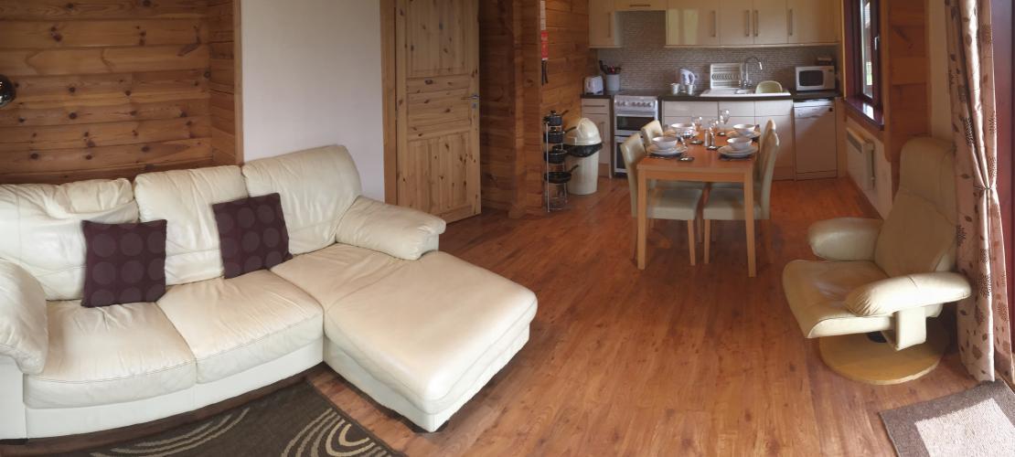Kingfisher Lodge - Living Room