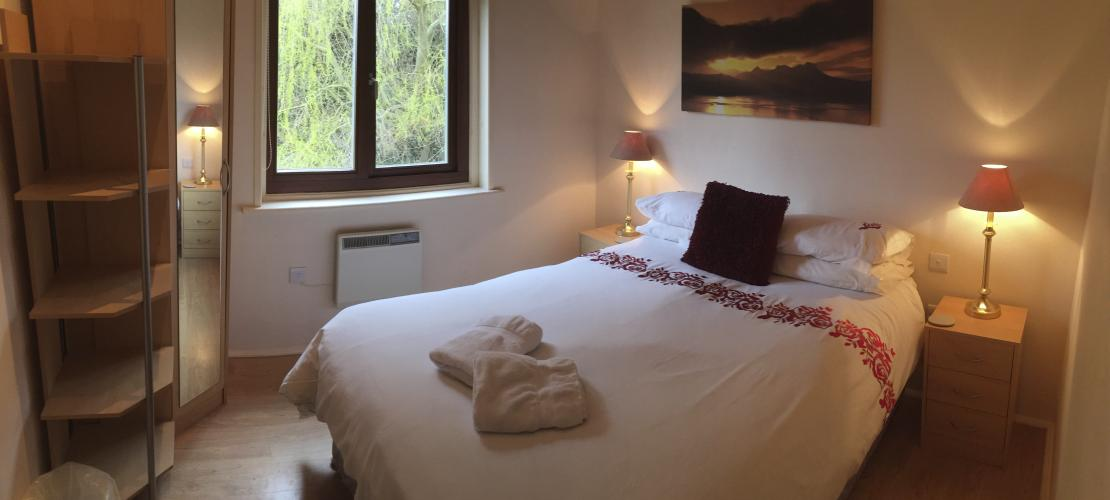 The Willow Lodge - Double Bedroom