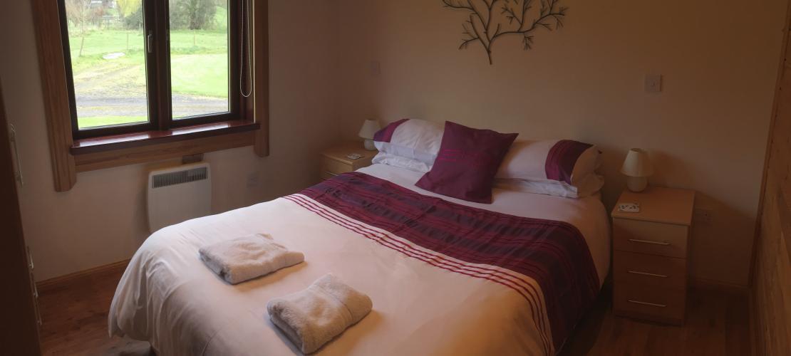 Kingfisher Lodge - Double Bedroom